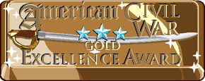 IMAGE of American Civil War Gold Excellence Award